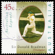 Stock Photo: AUSTRALI- CIRC1997 Donald Bradman