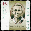 Stock Photo: AUSTRALI- CIRC1997 Sir Donald Bradman