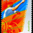 AUSTRALIA - CIRCA 2000 Wheelchair Tennis - Foto de Stock