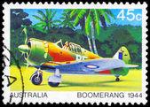 Austrália - circa 1980 bumerangue — Foto Stock