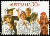 AUSTRALIA - CIRCA 1986 Children — Stock Photo