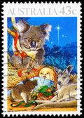 AUSTRALIA - CIRCA 1990 Nativity — Stock Photo