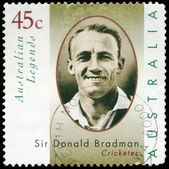 AUSTRALIA - CIRCA 1997 Sir Donald Bradman — Stock Photo