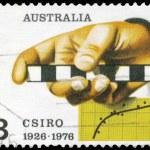 AUSTRALIA - CIRCA 1976 Survey Rule — Stock Photo #18915809
