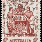 Постер, плакат: AUSTRALIA CIRCA 1957 Coat of Arms