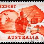 Постер, плакат: AUSTRALIA CIRCA 1963 Export