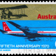 AUSTRALIA - CIRCA 1970 Aviation — Stock Photo