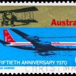 Постер, плакат: AUSTRALIA CIRCA 1970 Aviation