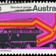 Stock Photo: AUSTRALI- CIRC1970 Diesel Locomotive