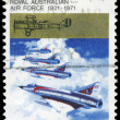 AUSTRALIA - CIRCA 1971 Jet Fighters — Stock Photo