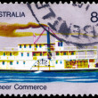 AUSTRALIA - CIRCA 1972 Steamer — Stock Photo