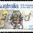 AUSTRALIA - CIRCA 1982 Broadcasting - Stock Photo