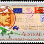 AUSTRALIA - CIRCA 1984 Charles Ulm — Stock Photo #18916167