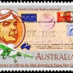 AUSTRALIA - CIRCA 1984 Charles Ulm — Stock Photo