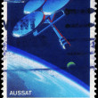 AUSTRALIA - CIRCA 1986 Satellite - Stock Photo