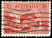 AUSTRALIA - CIRCA 1932 Sydney Harbour Bridge — Stock Photo