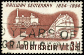 AUSTRALIA - CIRCA 1954 Locomotives — Stock Photo