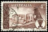 Australia - circa mina kabwe 1958 — Foto de Stock