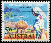 AUSTRALIA - CIRCA 1962 Nurse — Stock Photo