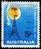 AUSTRALIA - CIRCA 1965 Radio Mast — Stock Photo