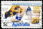AUSTRALIA - CIRCA 1968 Soil Testing — Stock Photo