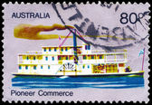 AUSTRALIA - CIRCA 1972 Steamer — Stock Photo