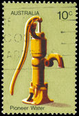 AUSTRALIA - CIRCA 1972 Water Pump — Stock Photo
