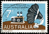 AUSTRALIA - CIRCA 1973 Gramophone — Stock Photo