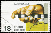 AUSTRALIA - CIRCA 1976 Survey Rule — Stock Photo