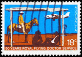AUSTRALIA - CIRCA 1978 Flying Doctor Service — Stock Photo
