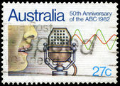 AUSTRALIA - CIRCA 1982 Broadcasting — Stock Photo