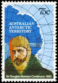 Australia - Circa 1982 Douglas Mawson — Foto de Stock
