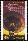 AUSTRALIA - CIRCA 1986 Radio Telescope — Stock Photo