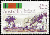 AUSTRALIA - CIRCA 1992 Bombing of Darwin — Stock Photo