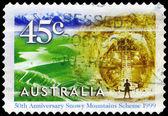 Avustralya - yaklaşık 1999 eucumbene barajı — Stok fotoğraf