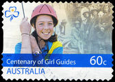 AUSTRALIA - CIRCA 2010 Girl Guides — Stock Photo