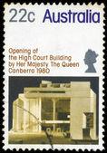 AUSTRALIA - CIRCA 1980 High Court Building — Stock Photo