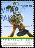 AUSTRALIA - CIRCA 1986 Cup Trophy — Stock Photo