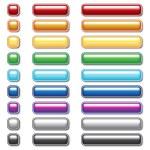 Button collection — Stock Vector