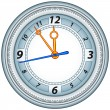 clock — Stock Vector
