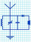 Detector receiver — Stock Vector