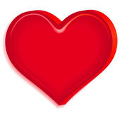 Relief heart — Vetor de Stock