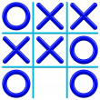 Noughts and Crosses — Stock Vector #29268657