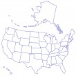 USA Map — Stock Vector