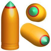 Bullet — Stock Vector
