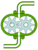 Pump — Stock Vector