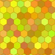Honeycomb color pattern — Stock Vector #38921363