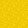Honeycomb seamless pattern — Stock Vector