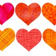 Heart set — Stock Vector #38921509