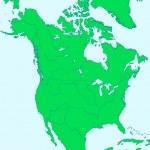 North America — Stock Vector #40677885